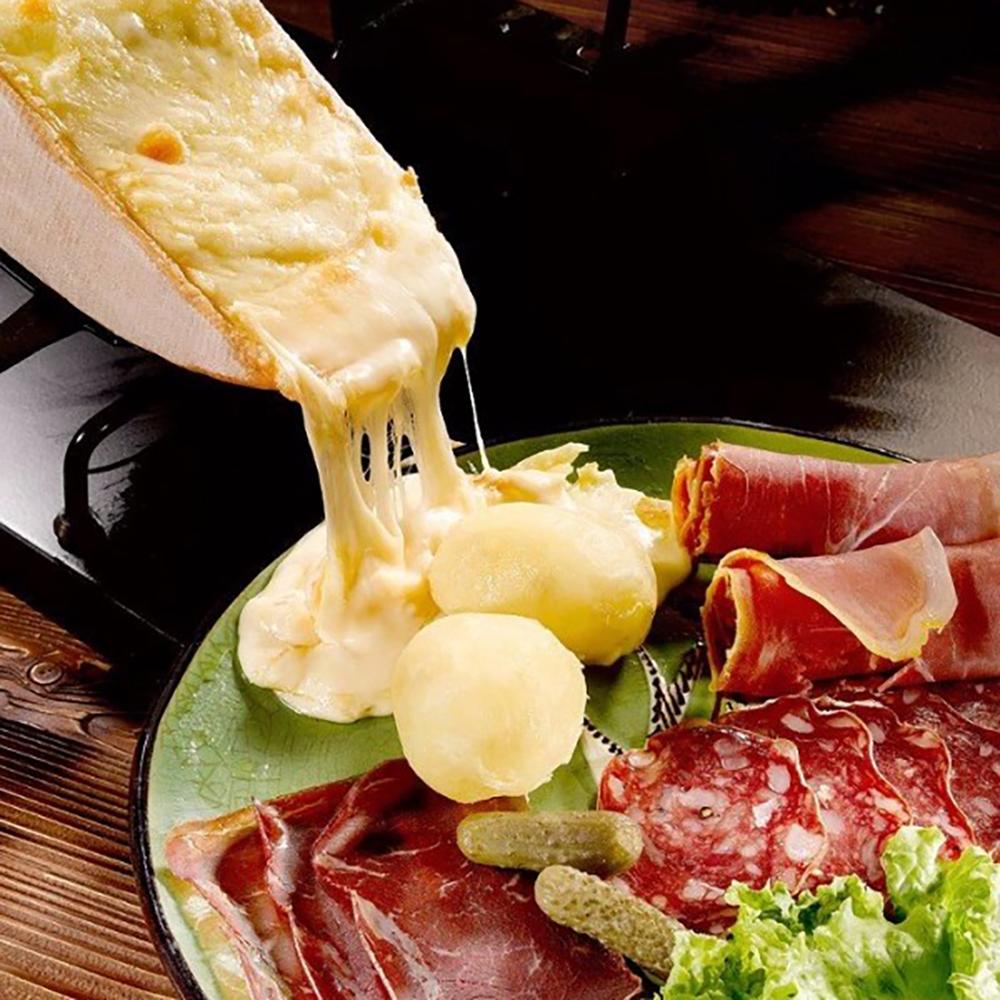 junk food à Paris raclette
