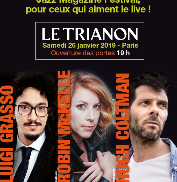 Jazz Magazine Festival 2019: les Dieux du Jazz se partagent le Trianon