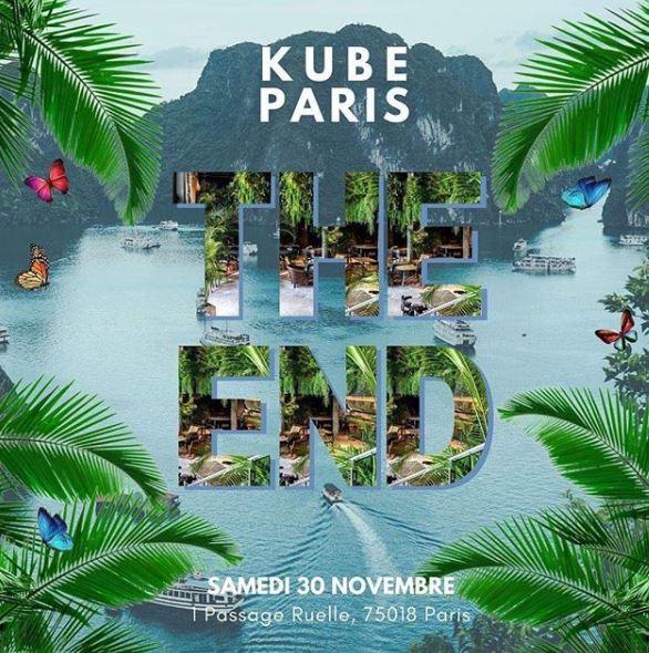 The End: la plus folle soirée de l'année revient au Kube Hôtel
