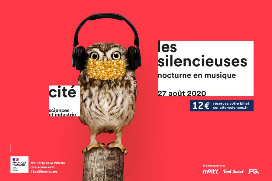 Casqués/masqués: les Silencieuses de retour en open air à la Cité des sciences