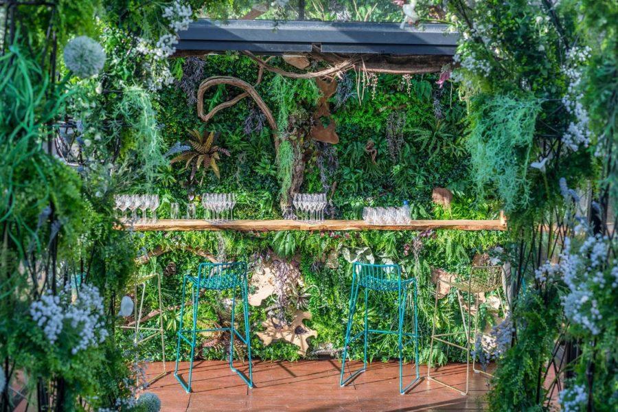 Nénuphar, LA soirée le dimanche à Paris sur une terrasse végétale de 300m²