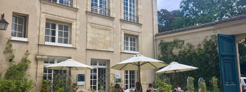 Terrasse cachée Paris institut suédois