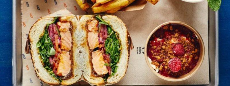 meilleur burger de Paris fish hamburger