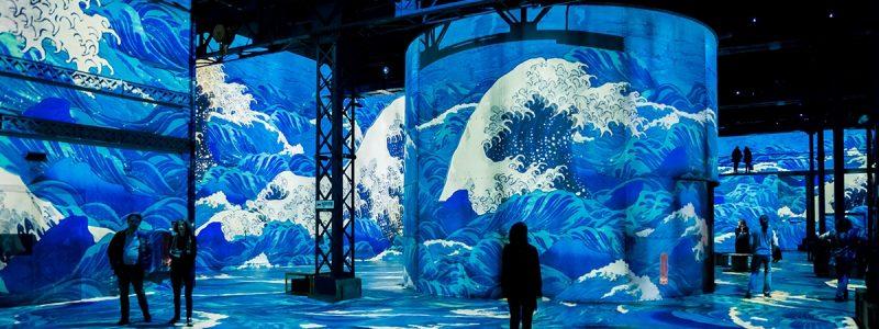 expo en octobre à paris atelier des lumières
