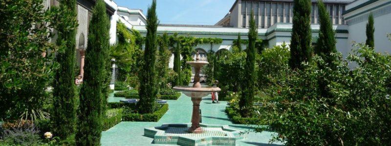 jardin paris grande mosquée
