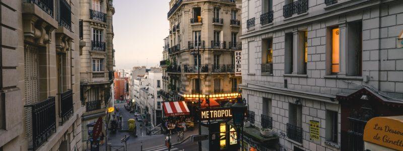 dimanche soir à Paris