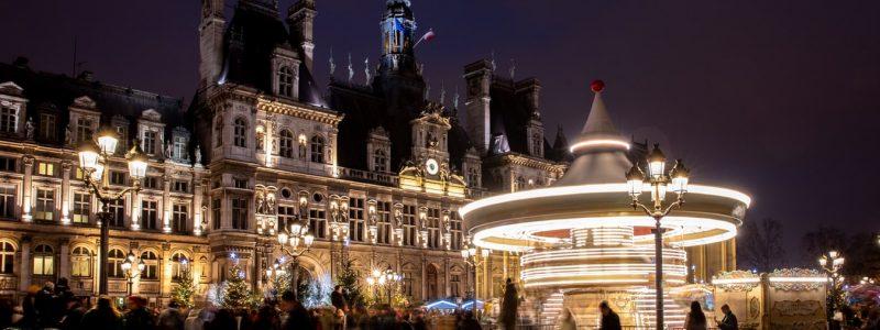 nuit blanche 2019 parvis de l'hotel de ville de paris
