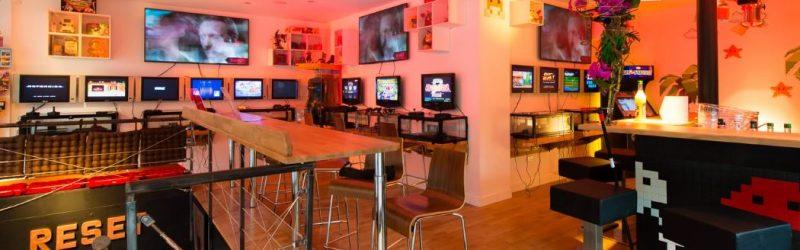 bar retrogaming à Paris reset