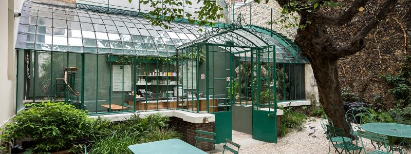 Terrasse cachée Paris musée de la vie romantique